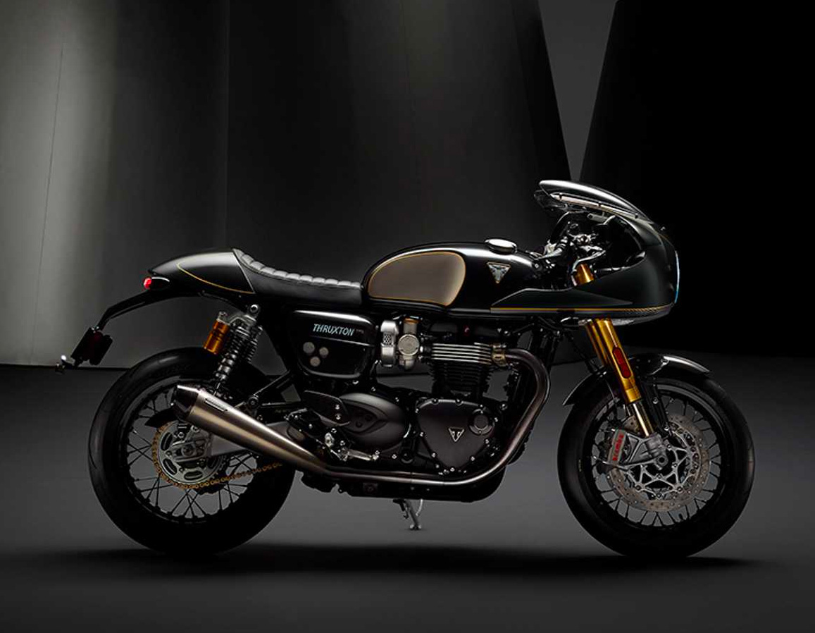 Triumph Launches Gorgeous Thruxton TFC at werd.com