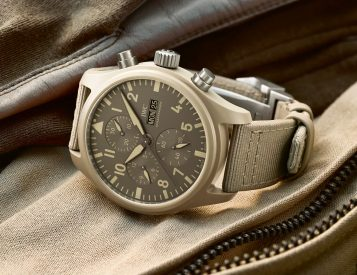 IWC Adds 4 New Watches To Its Top Gun Collection