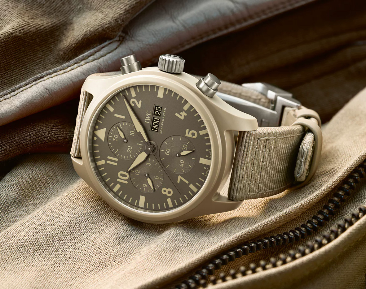 IWC Adds 4 New Watches To Its Top Gun Collection at werd.com