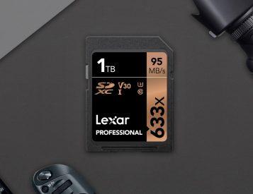 Lexar Introduces 1TB SD Card