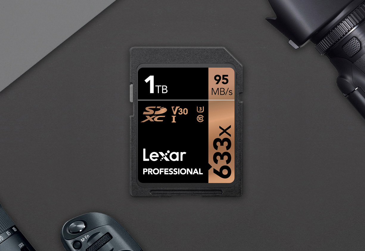 Lexar Introduces 1TB SD Card at werd.com