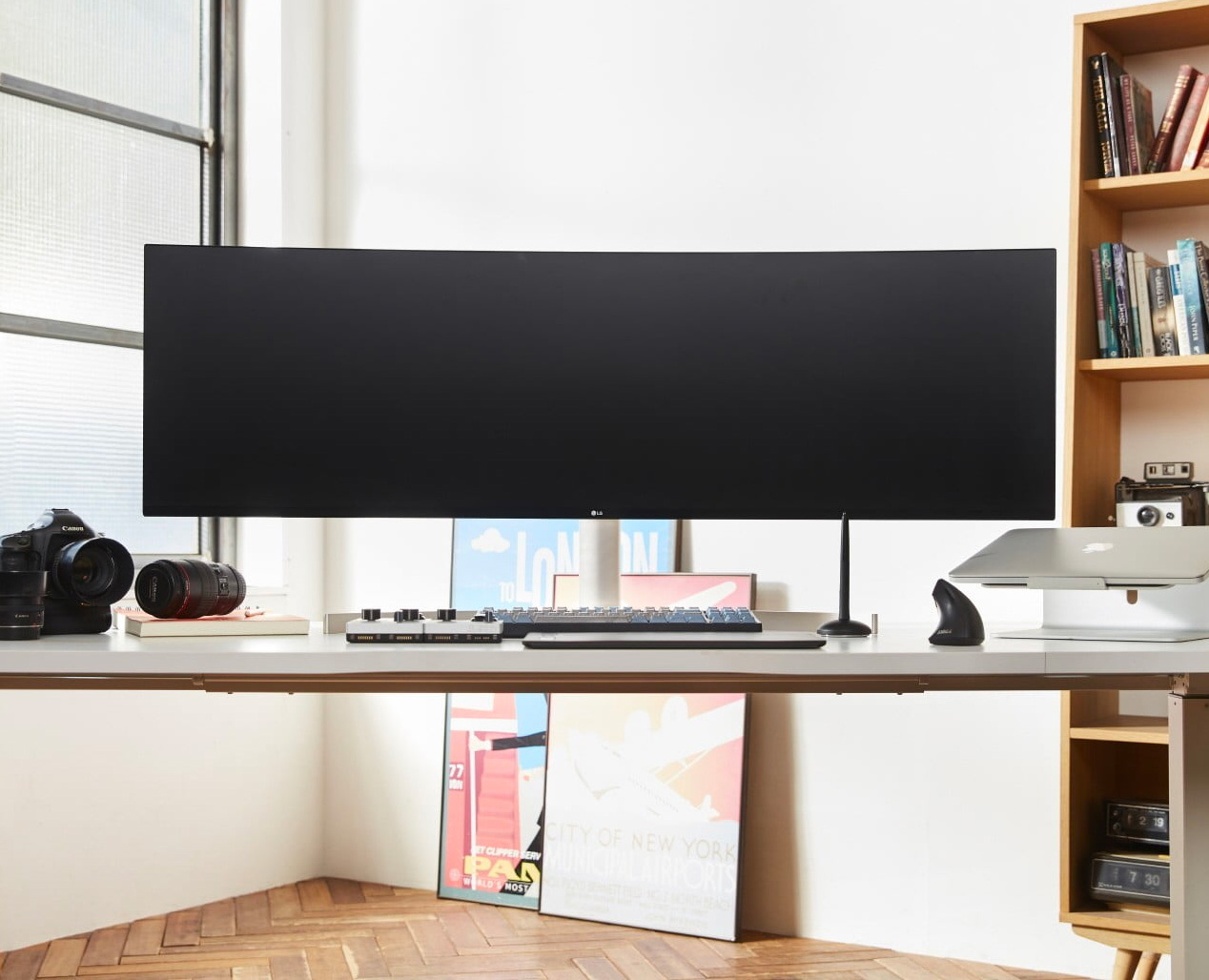 LG Has Created a Curved, 49-Inch UltraWide Monitor at werd.com