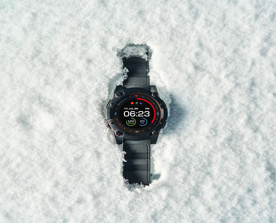 Your Body Heat and a Solar Cell Power this Smartwatch at werd.com