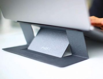 This Laptop Stand is Light as a Pen & Slim as a Coin