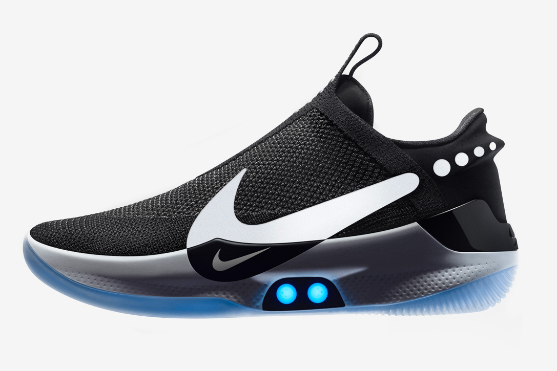Nike Drops the Self-Lacing Adapt BB Hoop Shoe at werd.com