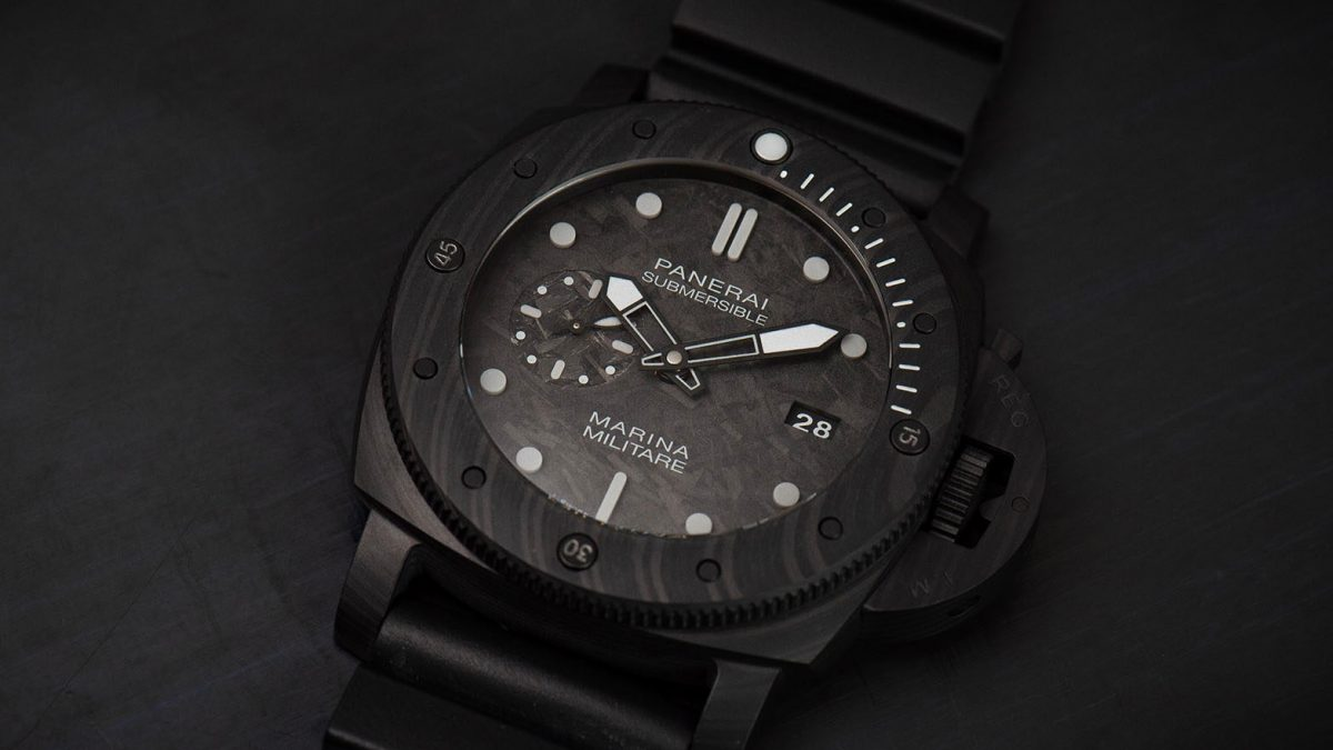 Get a New Panerai Submersible & Train with the Italian Navy