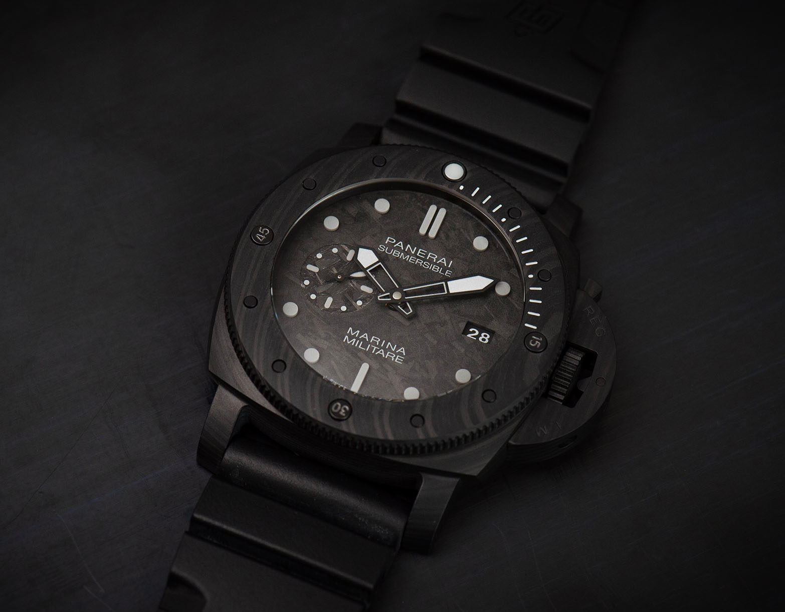 Get a New Panerai Submersible & Train with the Italian Navy at werd.com