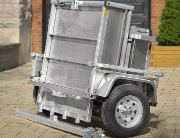 The Adapt-X Cargo Trailer Gives You Back Garage Space