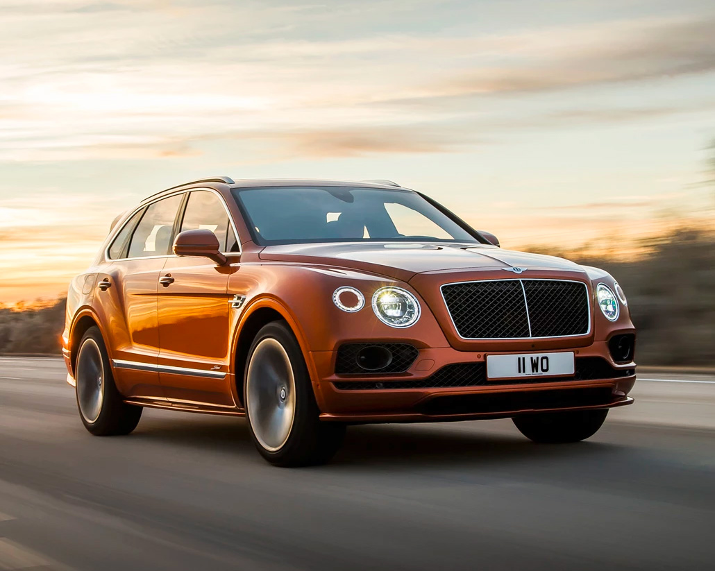 Bentley Bentayga Speed, The World's Most Powerful SUV at werd.com