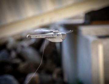 The Black Hornet PRS is a Combat-Proven, Pocket-Sized Drone