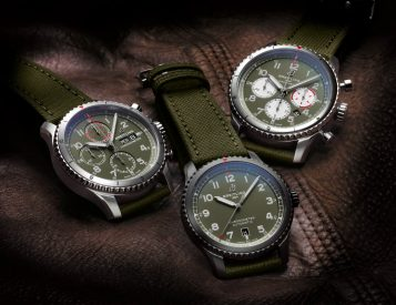 An Iconic Fighter Plane Inspires Breitling's Aviator 8 Curtiss Warhawk Watches