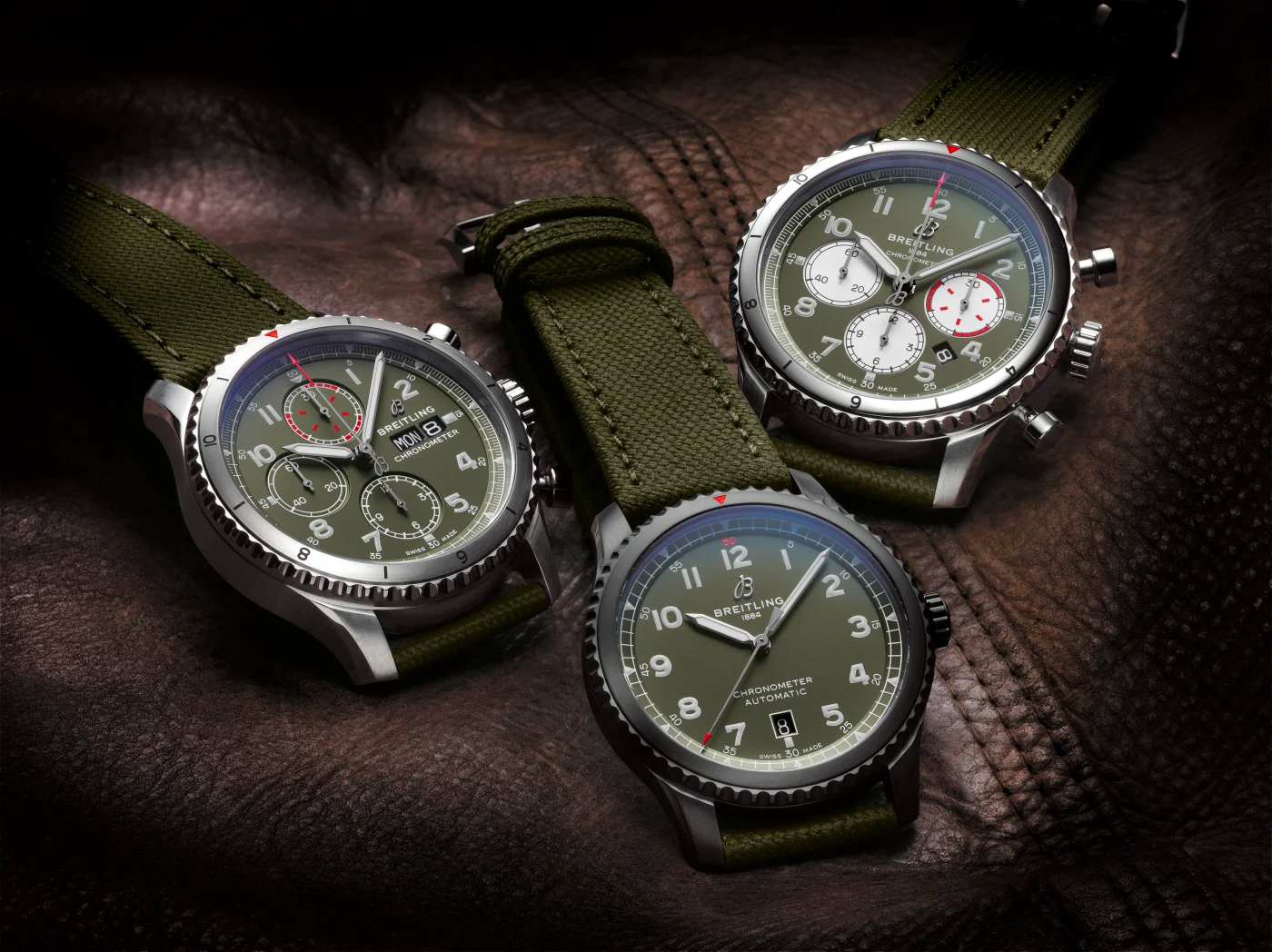 An Iconic Fighter Plane Inspires Breitling's Aviator 8 Curtiss Warhawk Watches at werd.com