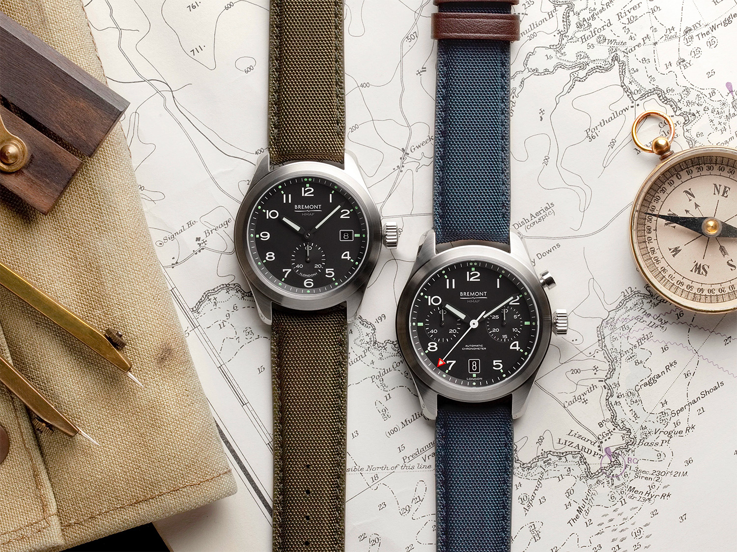 Bremont's Armed Forces Collection Pays Homage to the British Military at werd.com