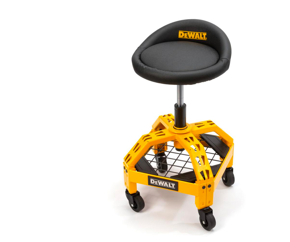 Get Right To Work On DeWalt's Adjustable Shop Stool at werd.com
