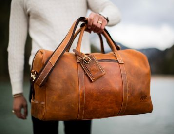Kodiak Leather's Weekender Duffle is a Bag Built To Go the Distance