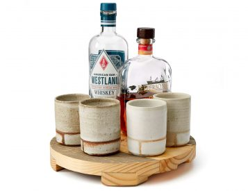 Enjoy Your Whiskey in a Handmade Clay Tumbler