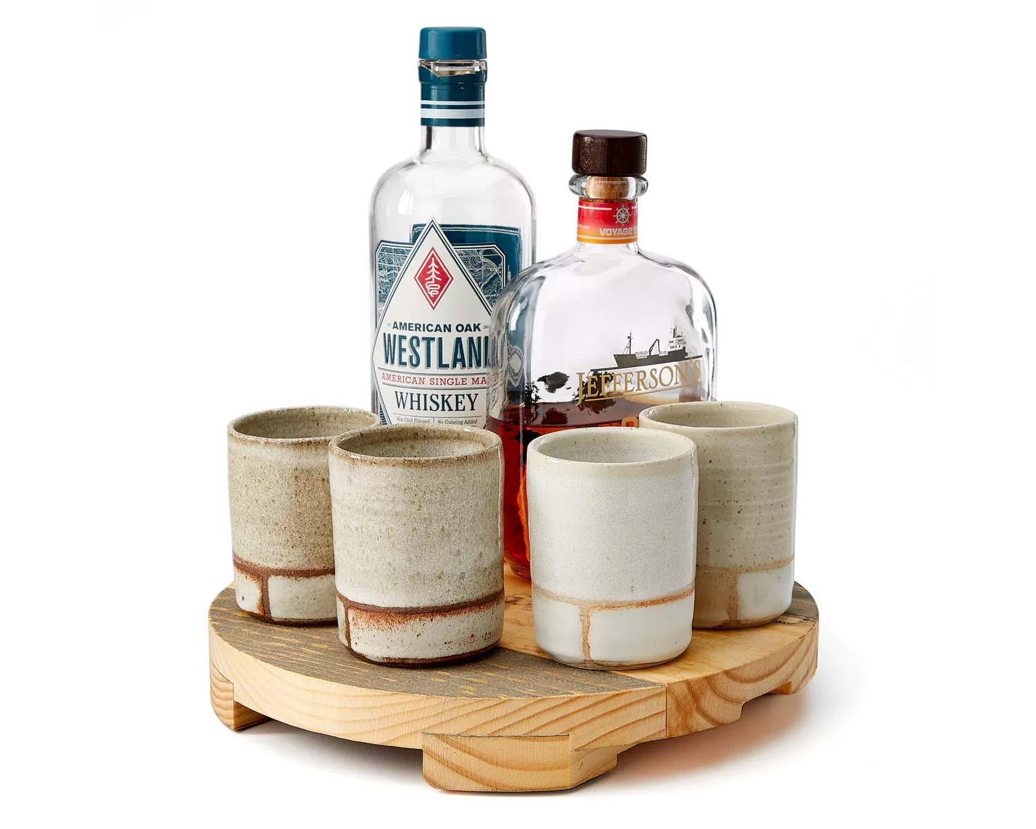 Enjoy Your Whiskey in a Handmade Clay Tumbler at werd.com