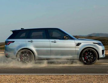 Range Rover Rolls Out The Sport HST Hybrid