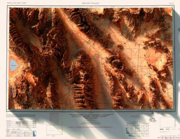 3-D Data & Historical Maps Combine To Create Amazing Images