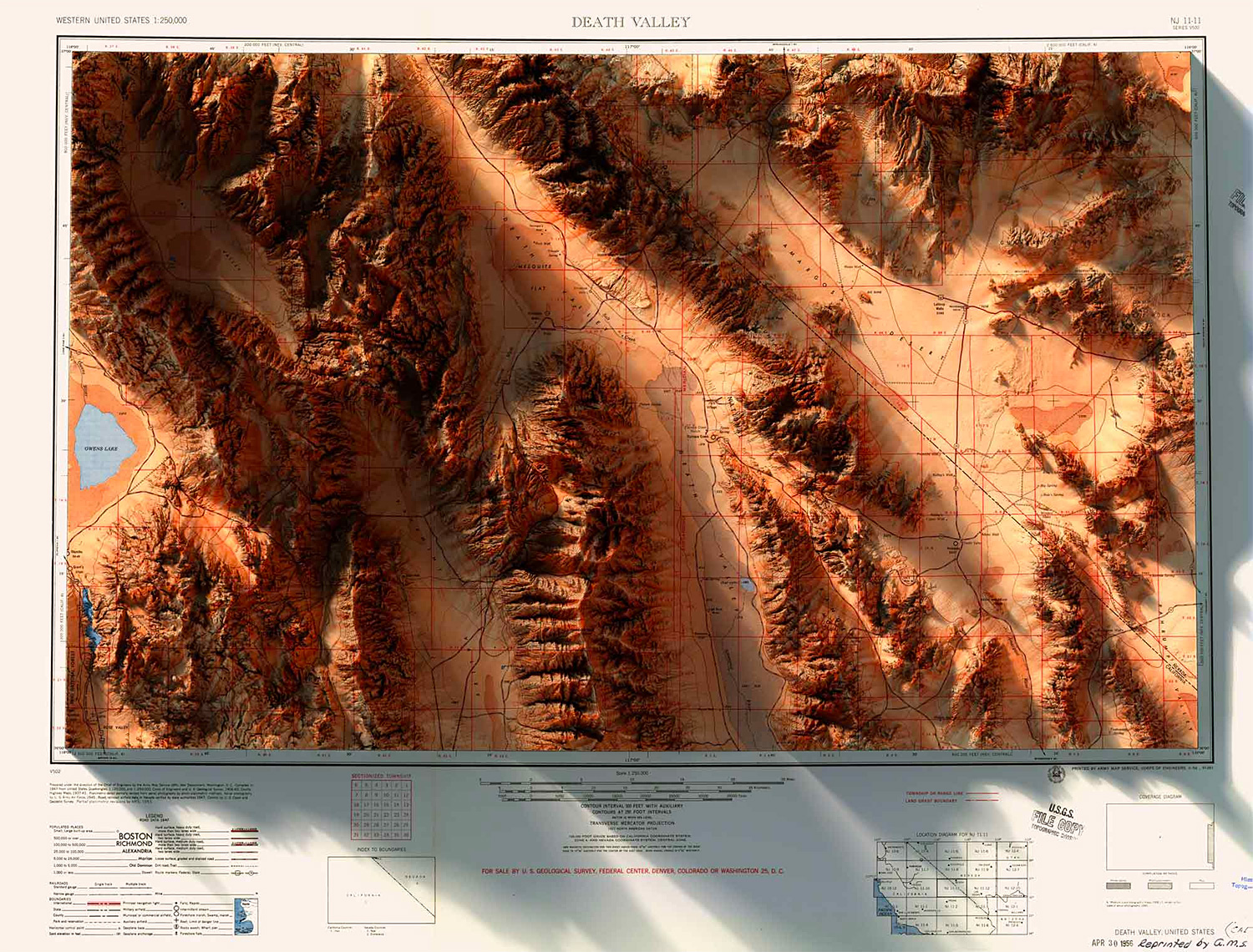 3-D Data & Historical Maps Combine To Create Amazing Images at werd.com
