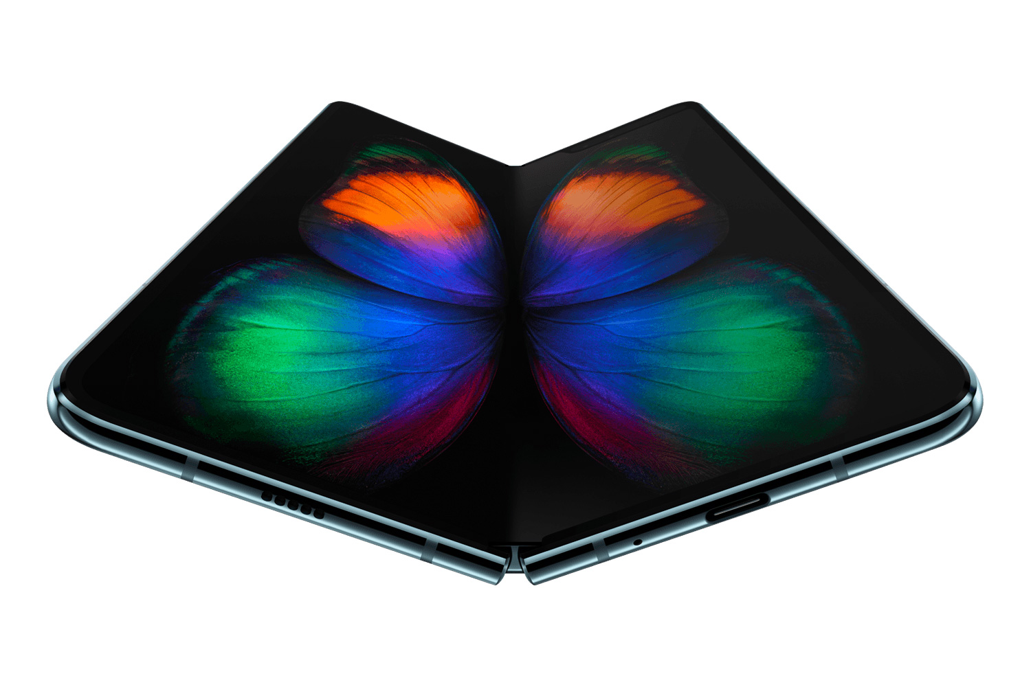 Samsung Introduces Galaxy Fold Phone at werd.com