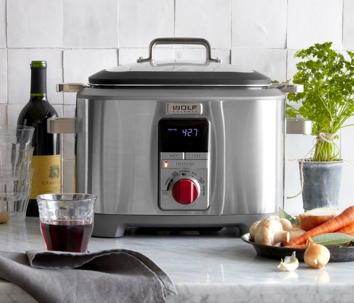 This Multi-Function Countertop Cooker Does It All at werd.com
