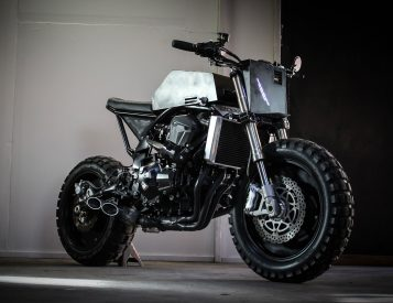 Droog Moto's Latest Urban Assault Vehicle Comes from the Dark Future