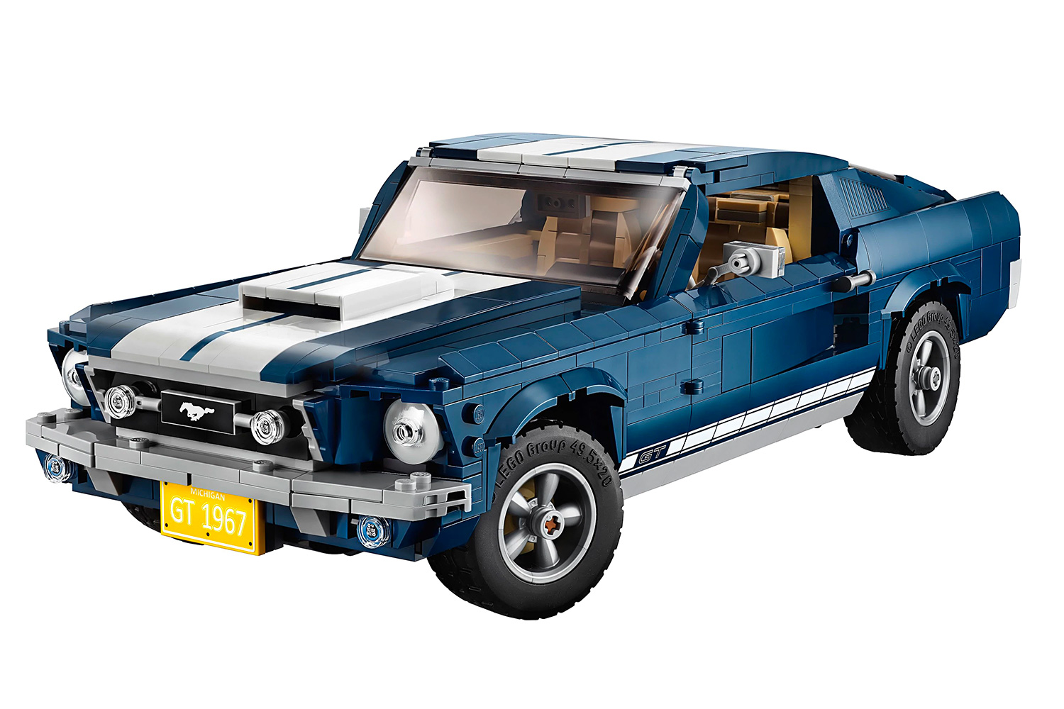 Lego Rolls Out a 1471-Piece Ford Mustang Fastback Kit at werd.com