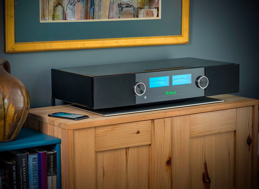 McIntosh Introduces 650-Watt Wireless Speaker System at werd.com
