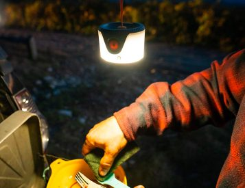 This Compact Camp Lantern Can Totally Hang
