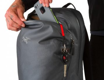 The Arc'Teryx Granville 16 Pack Keeps Your Gear High & Dry