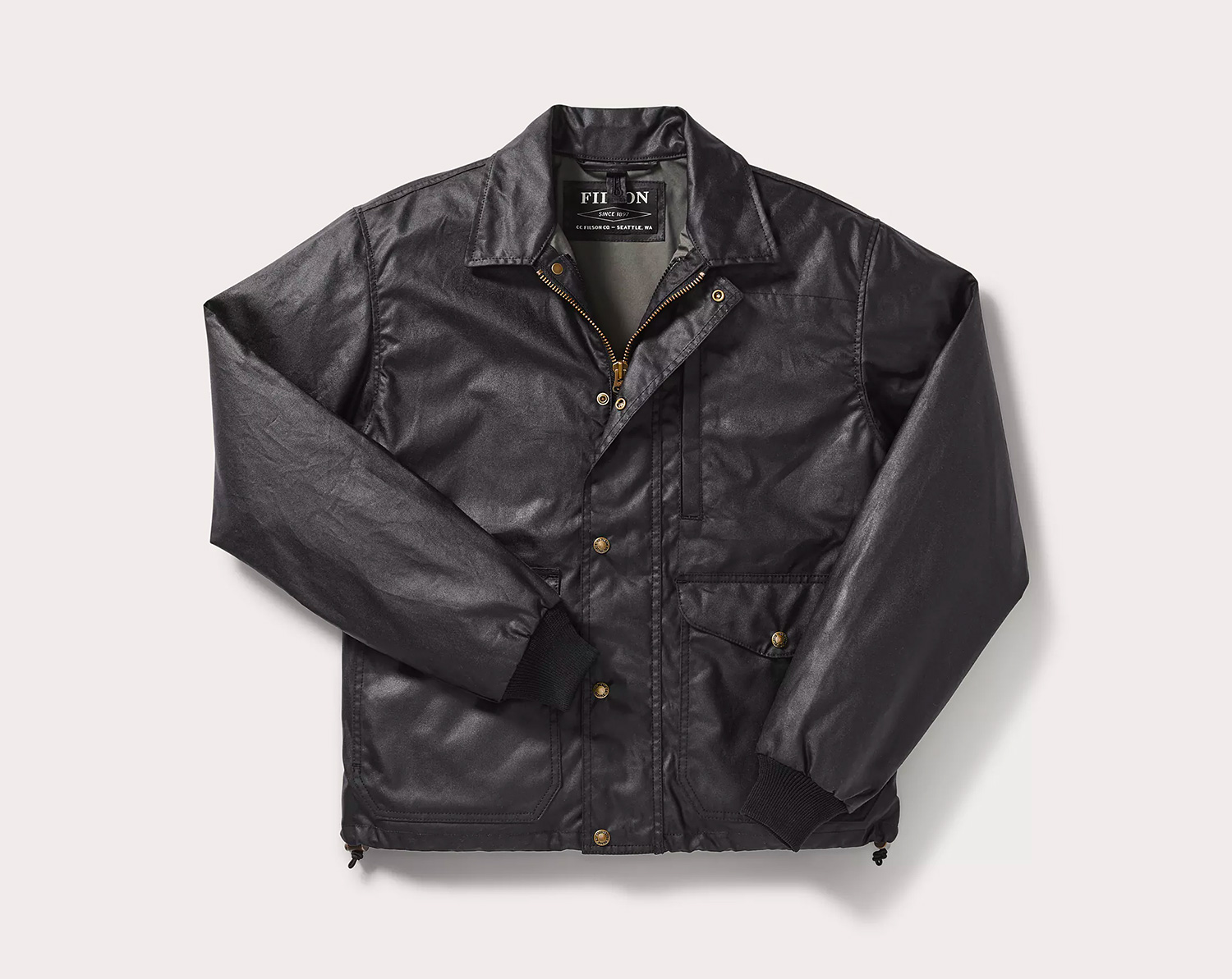 Filson's Aberdeen Work Jacket is Ready for Spring Showers at werd.com