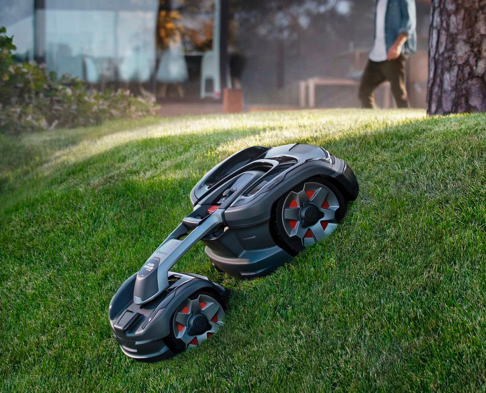 Husqvarna's Latest Robotic Lawn Mower is Alexa-Enabled and Expensive at werd.com