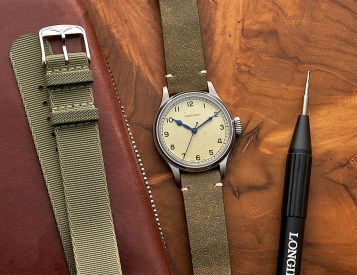 Longines Introduces Aviation-Inspired Heritage Military Automatic
