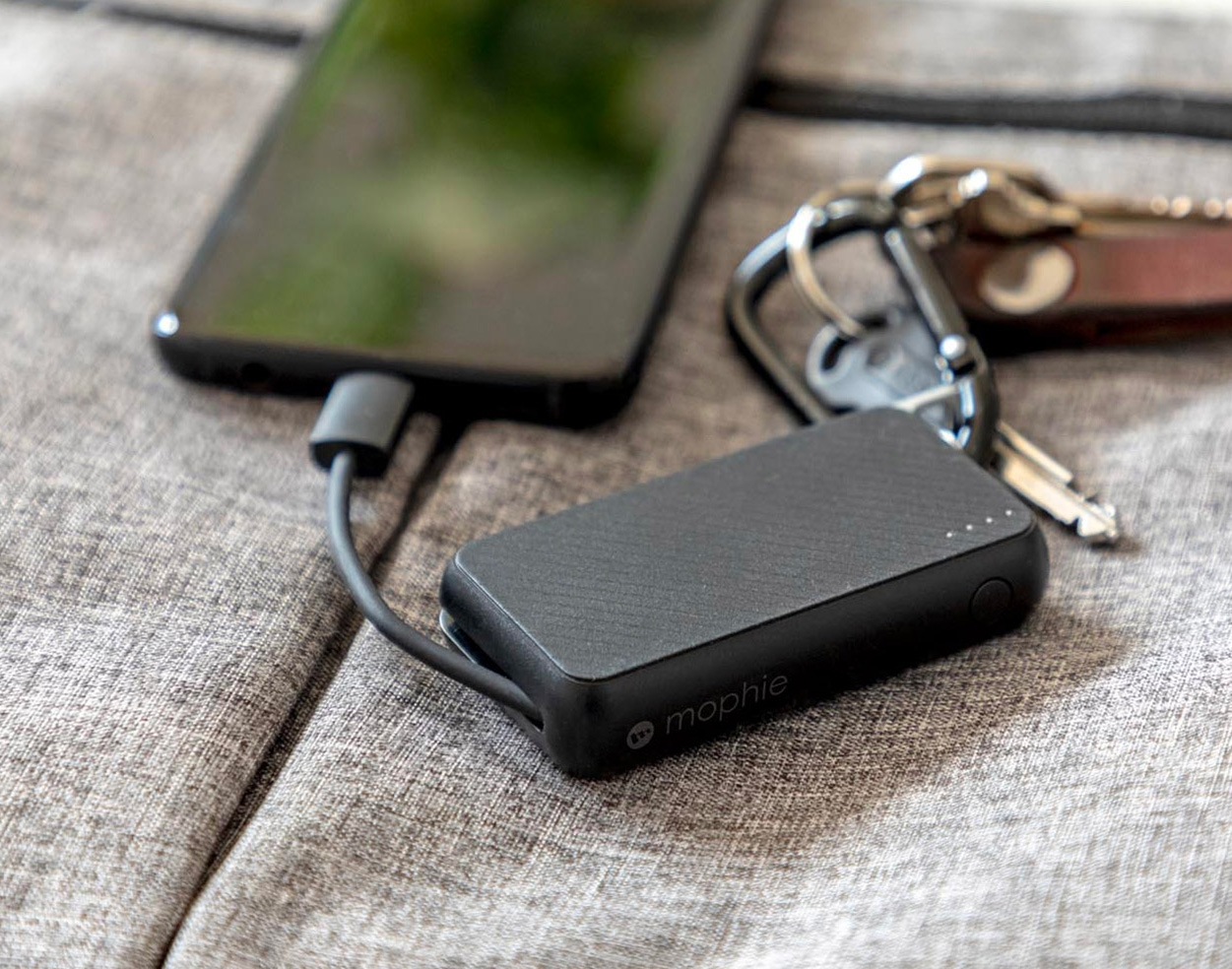 Get Mophie's Powerstation Keychain for Pocketable Power at werd.com