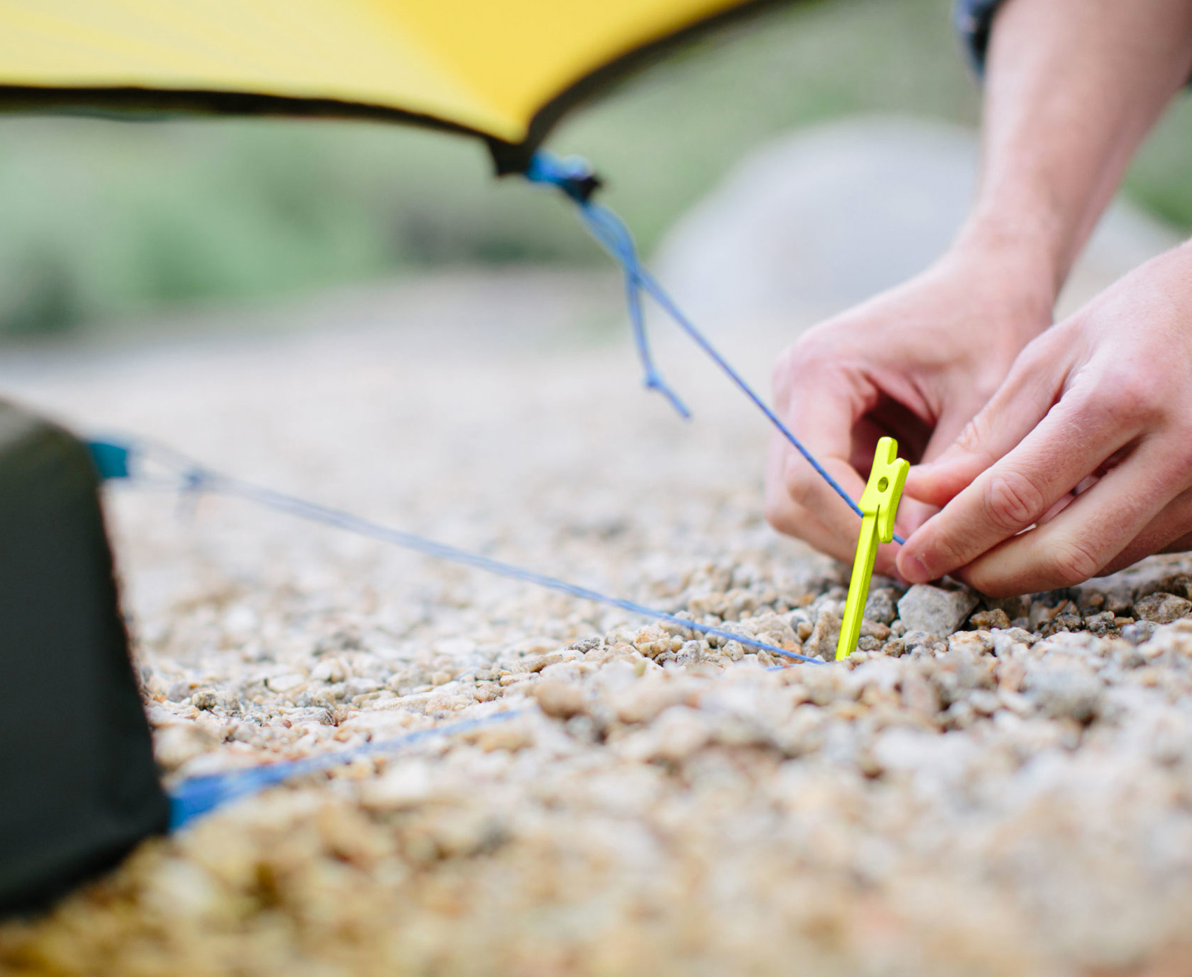 Lighten Your Load with Nemo's Airpin Ultralight Tent Stakes at werd.com