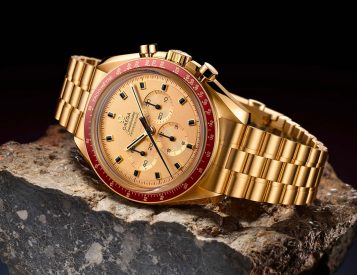 Omega's 50th Anniversary Speedmaster Apollo 11 Celebrates the First Lunar Landing