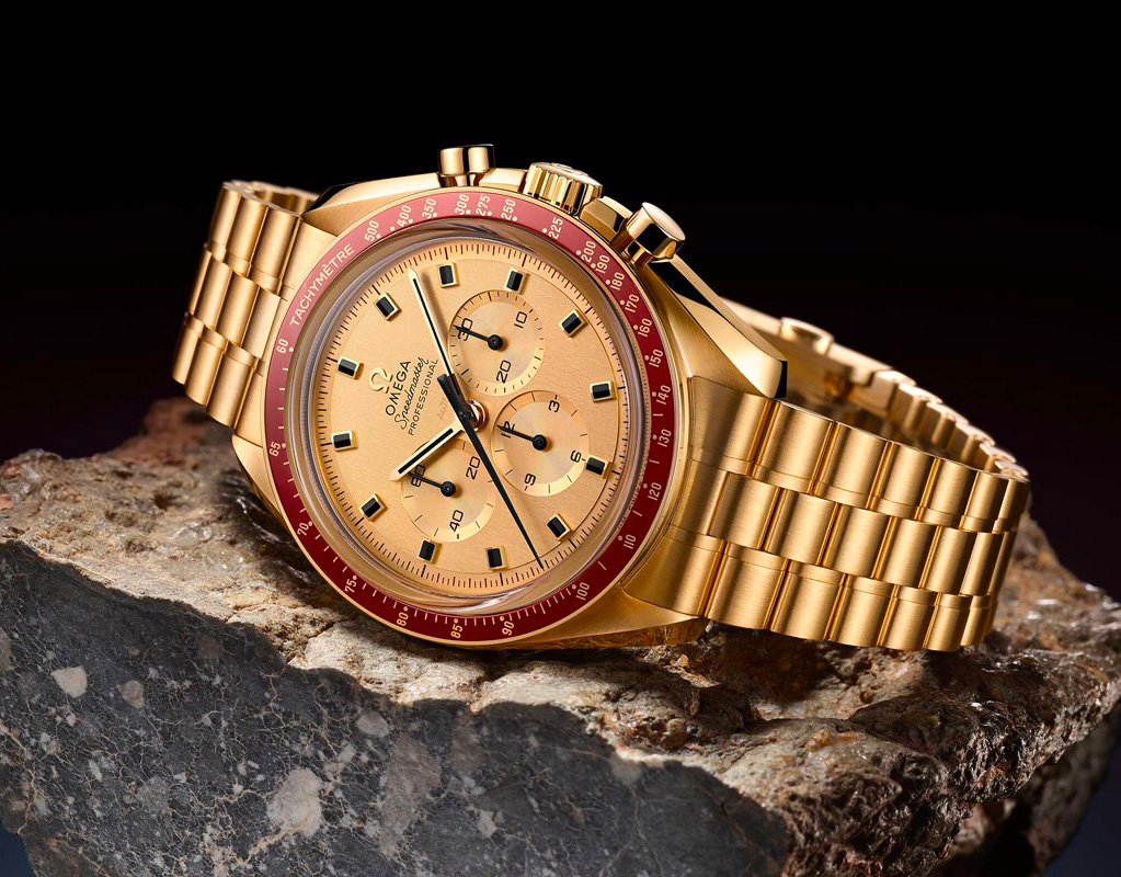 Omega's 50th Anniversary Speedmaster Apollo 11 Celebrates the First Lunar Landing at werd.com