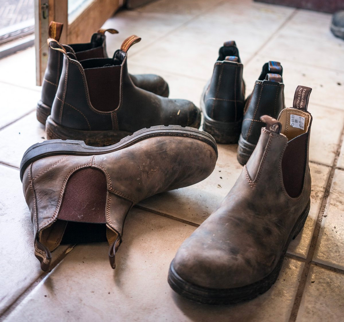 One Boot To Do-It-All: The Original Blundstone 500 at werd.com