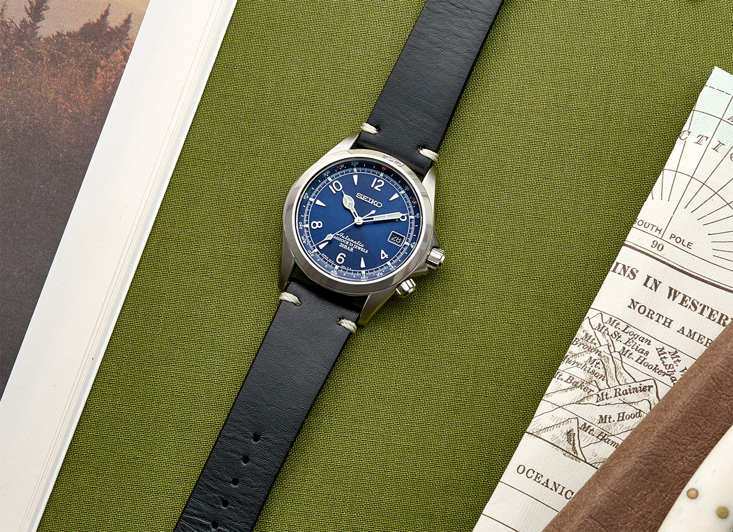Seiko Offers Its Iconic Alpinist Automatic in a Limited Edition at werd.com