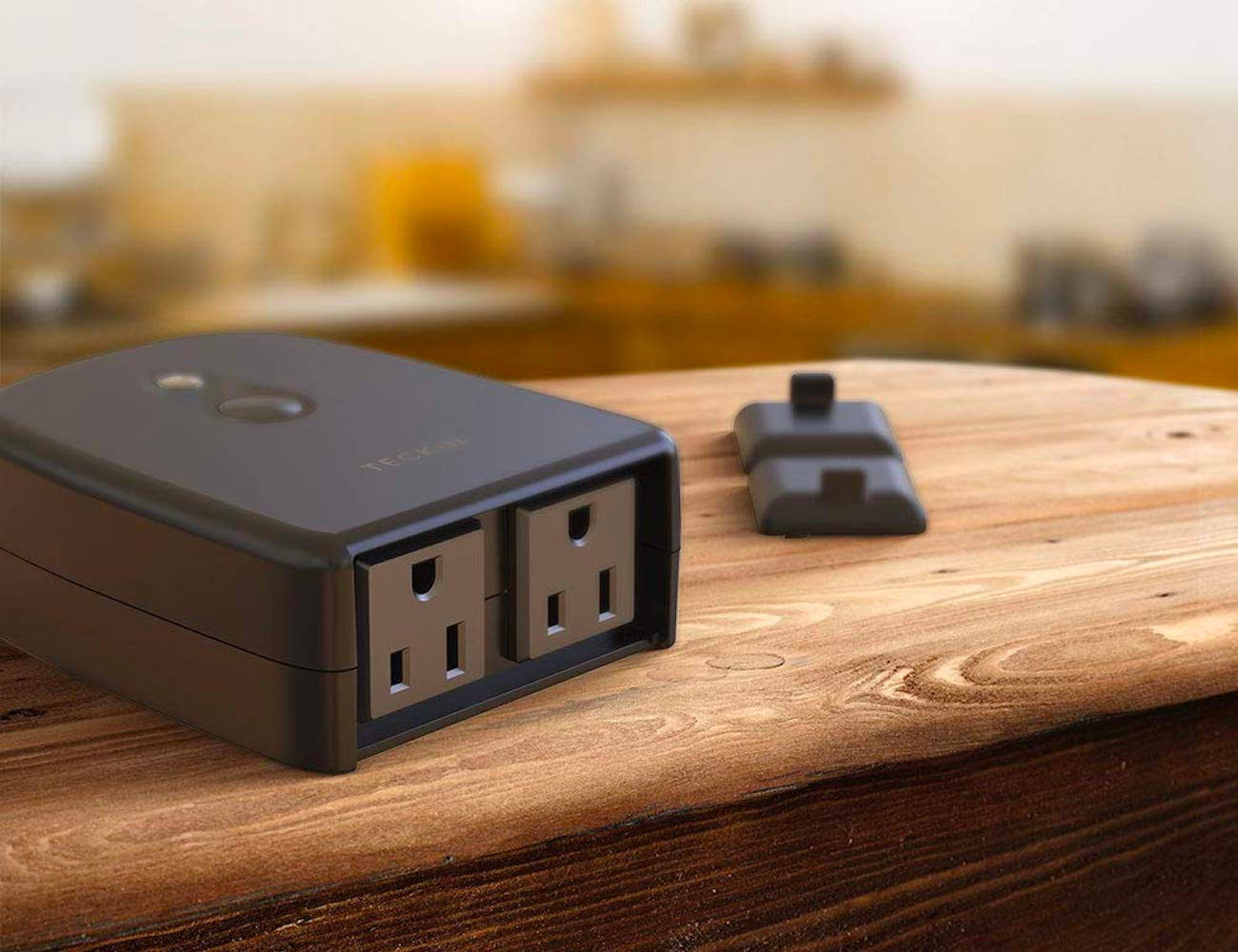 TECKIN's Outdoor Outlet Gives You All-Weather Wi-Fi & Voice-Control at werd.com