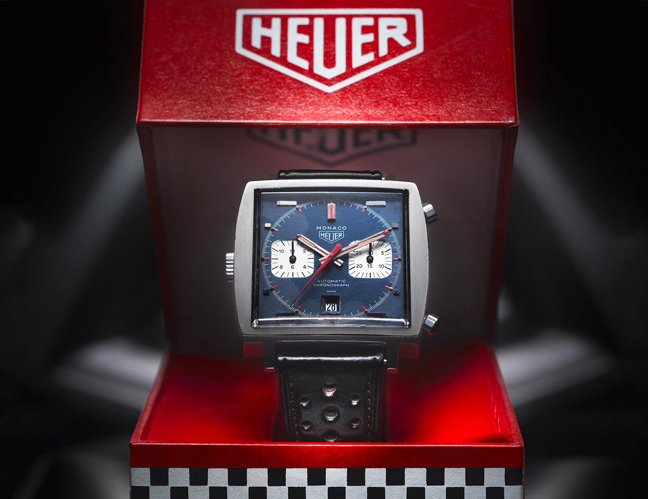 Tag Heuer Celebrates 50 Years of the Monaco Automatic at werd.com