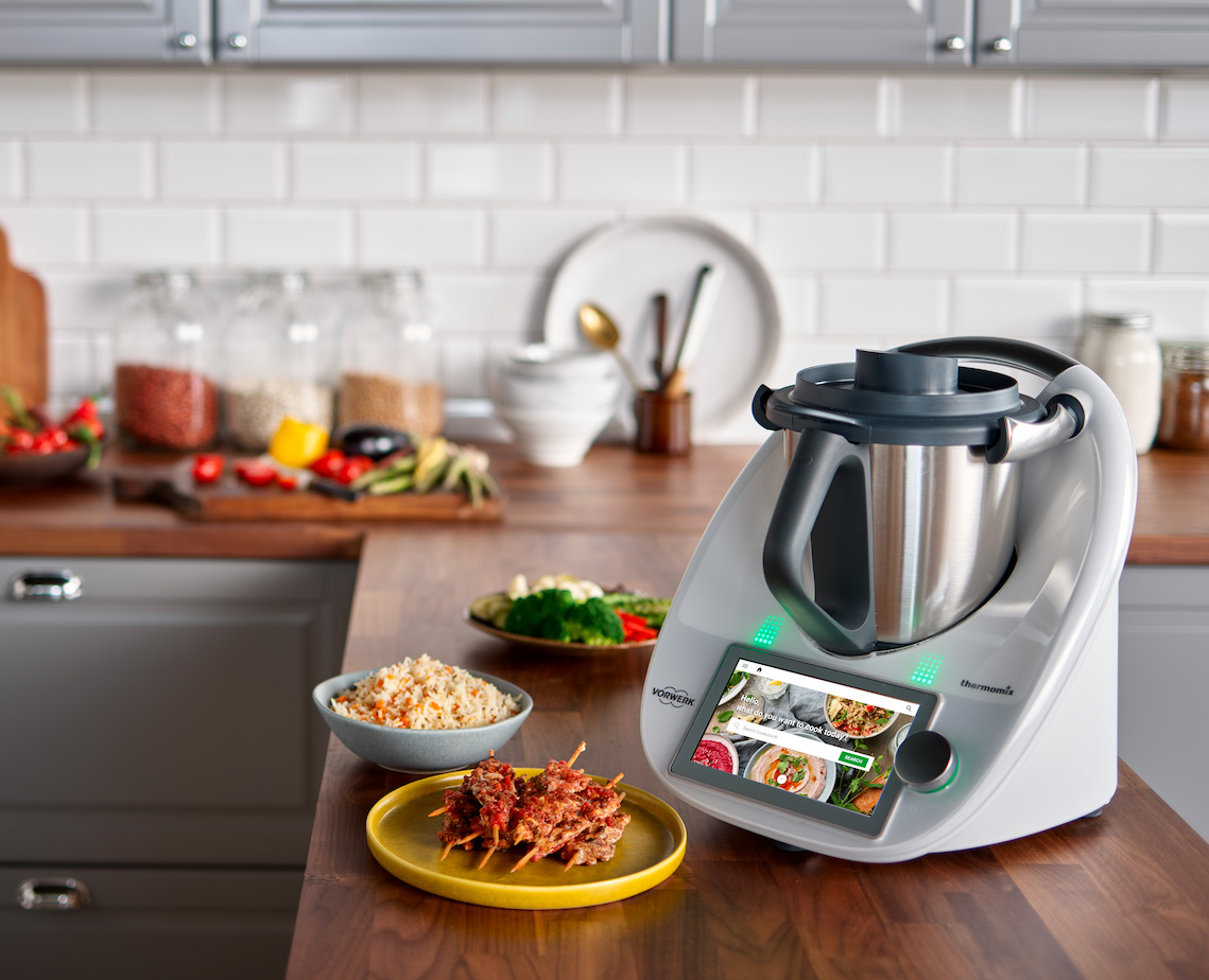 The Thermomix TM6 is a Countertop Smart Appliance that Literally Does It All at werd.com