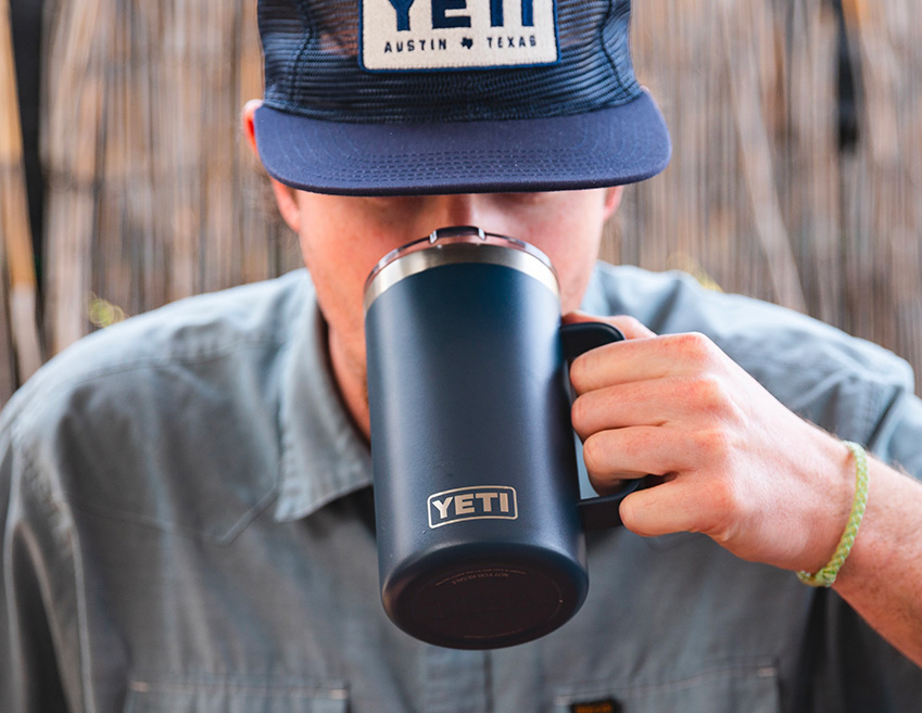 Pour-Up & Stay Cool with this Big-Boy Mug from YETI at werd.com