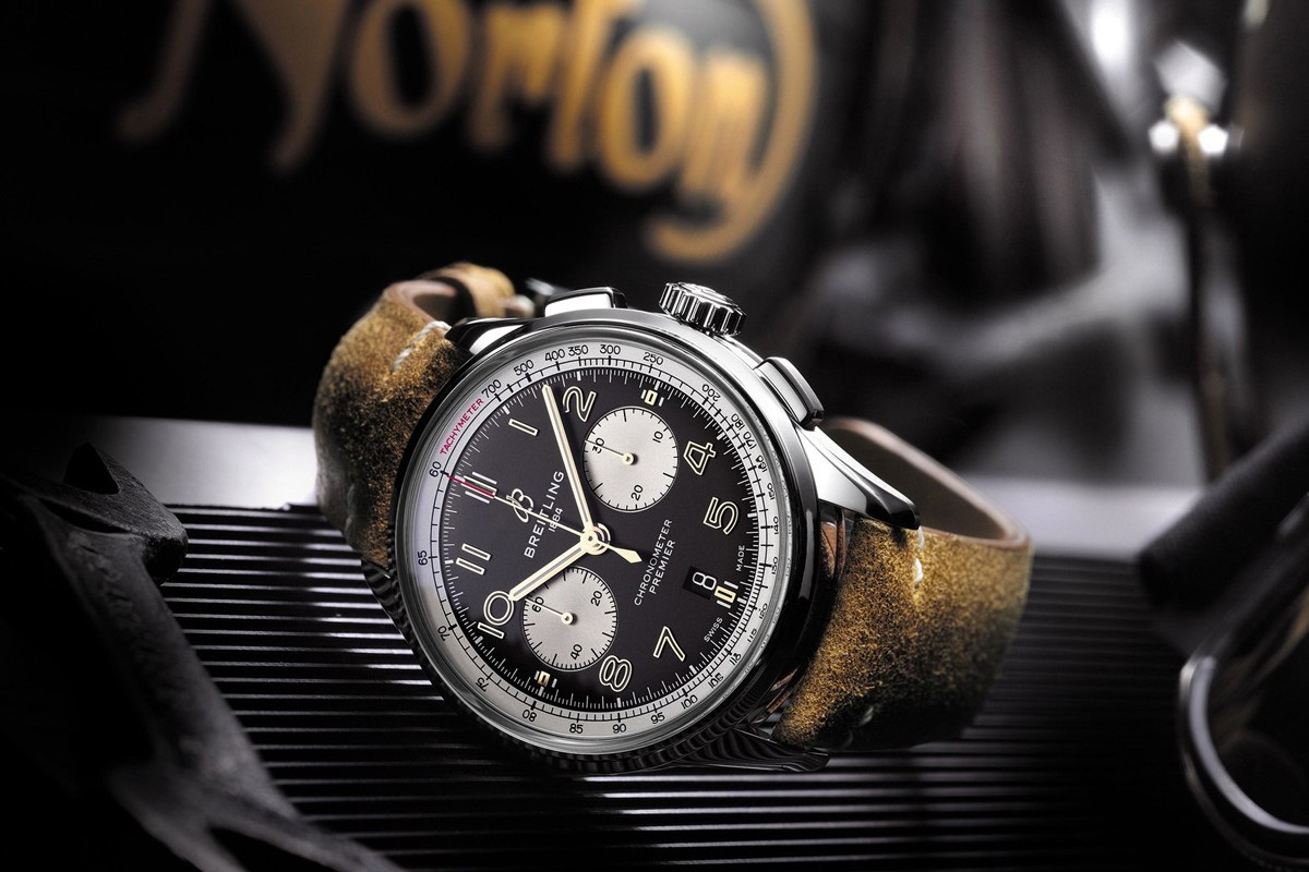 Breitling & Norton Motorcycles Celebrate Their Heritage with a Limited Chronograph at werd.com