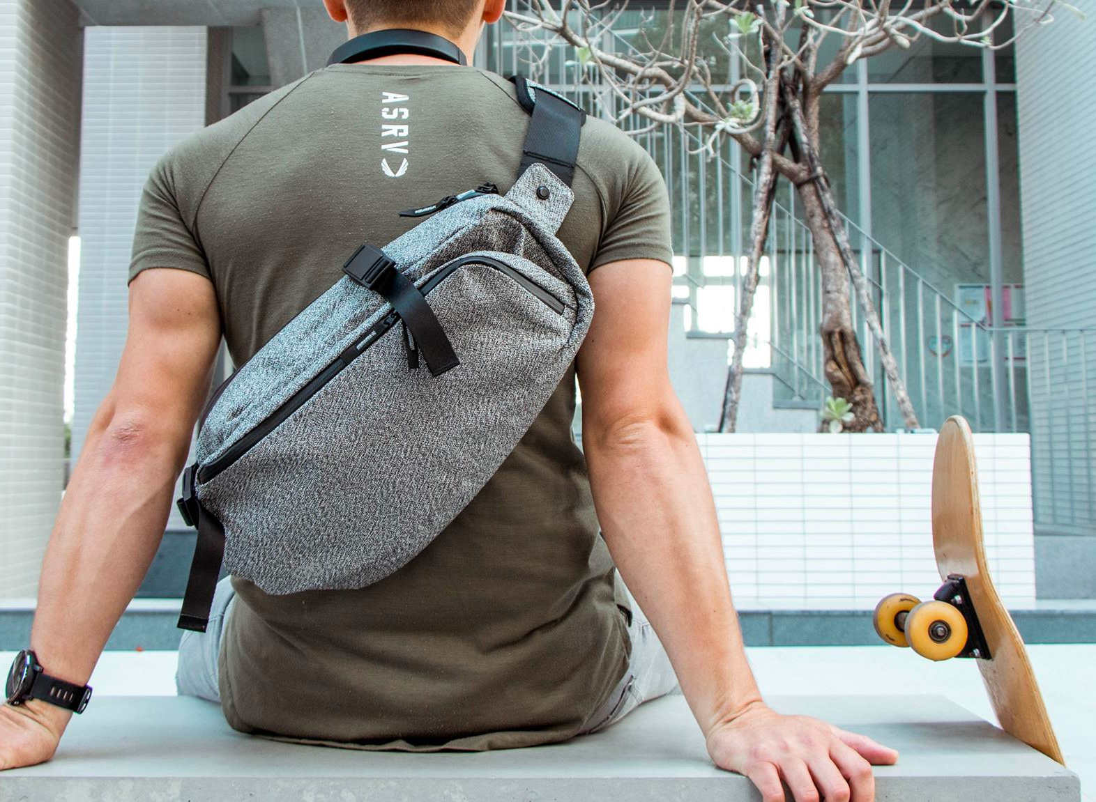The Cycop DaySling 2.0 Keeps Gear Dry & Secure at werd.com