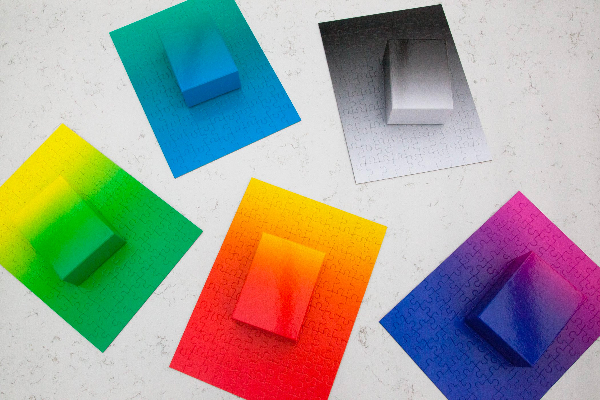 Chill Out & Contemplate Color with these Artsy Gradient Puzzles at werd.com