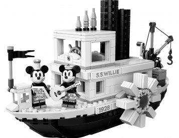 Lego & Disney Celebrate 90 Years of Mickey Mouse