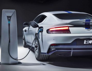 Aston Martin Introduces Its First Electric: The Rapide E
