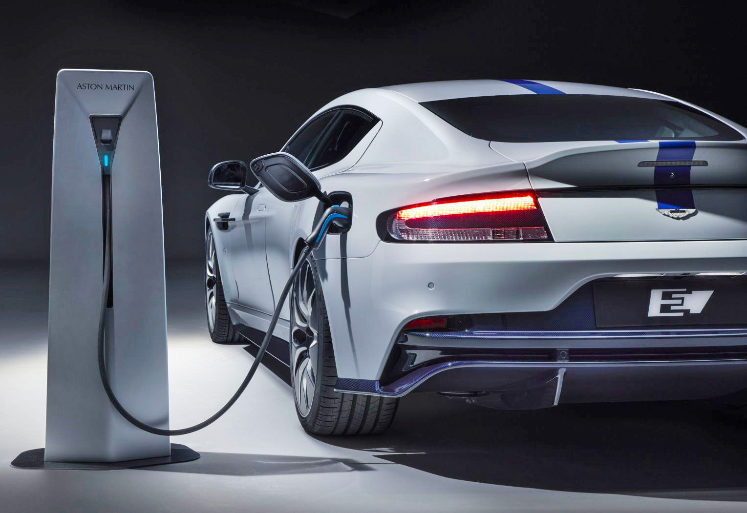 Aston Martin Introduces Its First Electric: The Rapide E at werd.com
